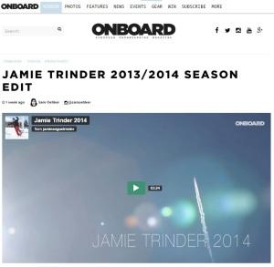 Jamie Edit Onboard