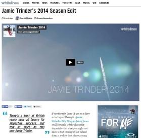 Jamie Edit Whitelines