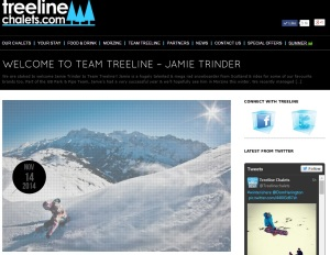 welcome to Treeline Jamie Trinder